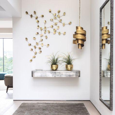 ▷ 1001 + ideas de decoración de recibidores modernos