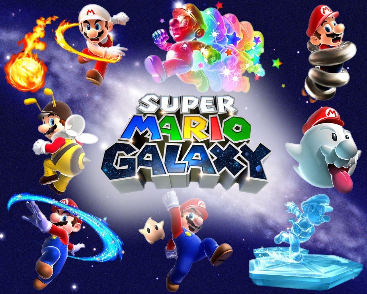 Super Mario Galaxy Super Mario Galaxy 2 Wallpaper 20 Hd Game