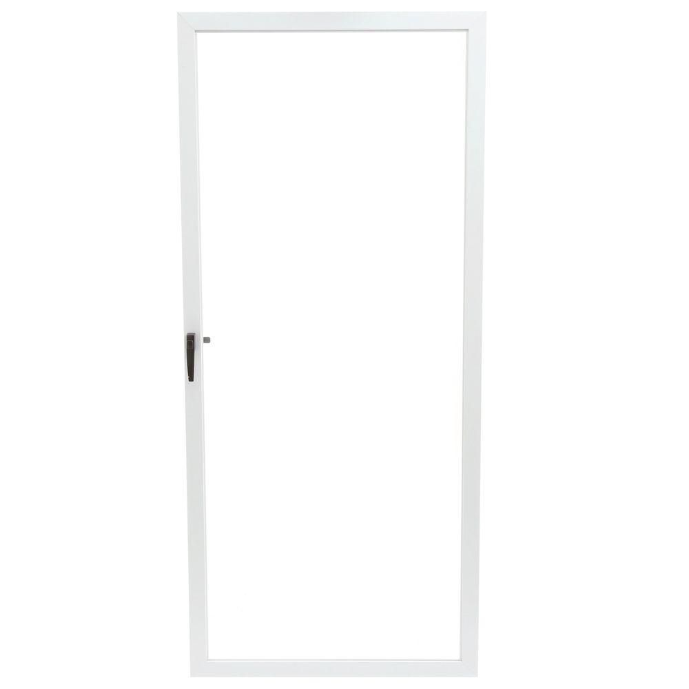 Give a great first impression that lasts forever by installing EMCO White Fullview Storm Door.  sc 1 st  Pinterest & EMCO 36 in. x 80 in. 75 Series White Fullview Storm Door | Happy ...