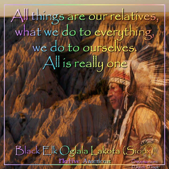 All things are relative, what we do to everything we do to ourselves.  All is really one.
