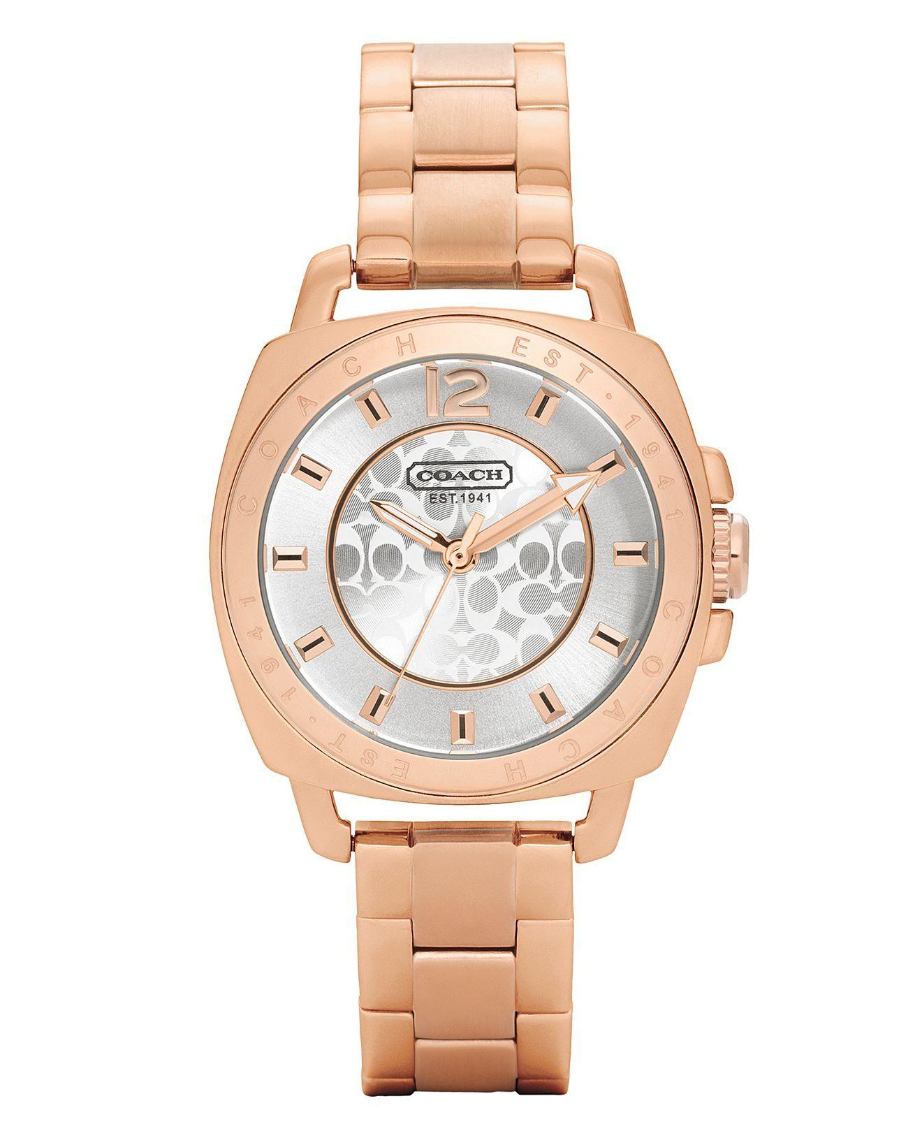 COACH BOYFRIEND MINI BRACELET WATCH - Women's Watches ...