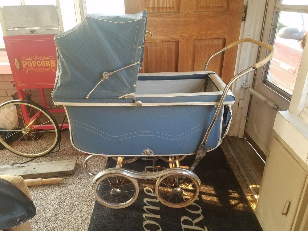 Vintage Baby Stroller 1950's BABY BUGGY, IN ONE