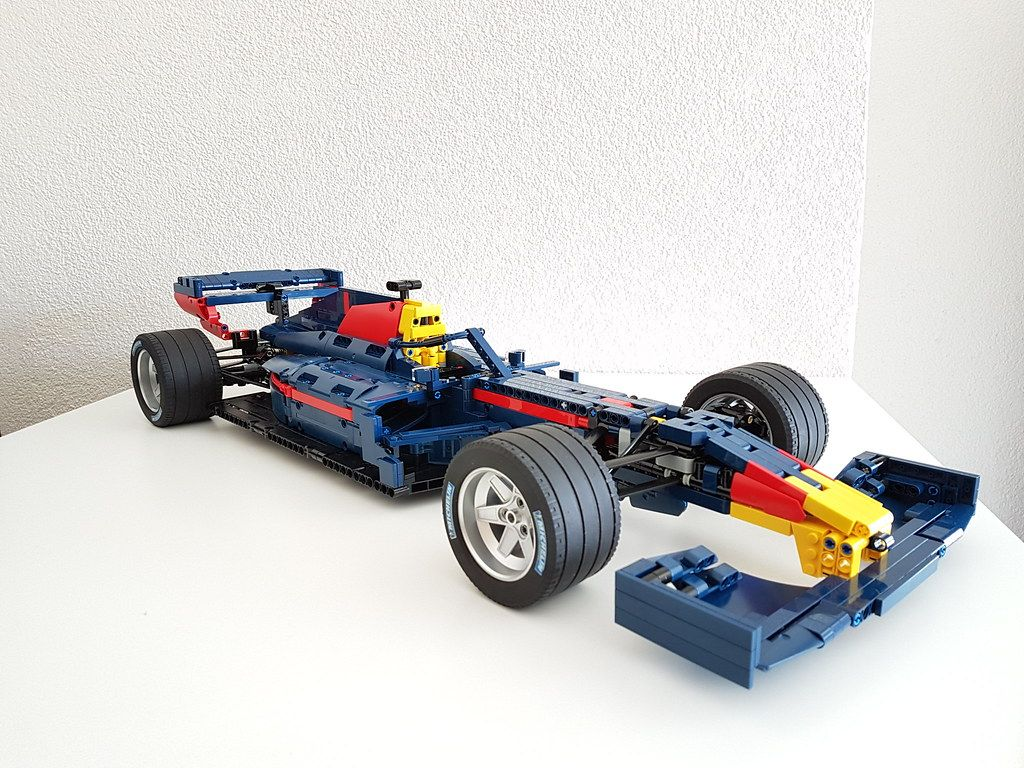 Moc F1 Car 2019 Spec In Red Bull Colour Scheme 1 8 Scale Lego Technic And Model Team Eurobricks Forums In 2021 Lego Technic Lego Cars Lego [ 768 x 1024 Pixel ]