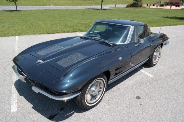 1963 corvette split window corvette muscle pinterest corvette rh pinterest com