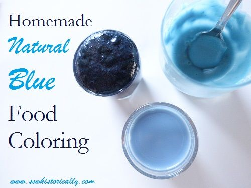 Homemade Natural Blue Food Coloring With Red Cabbage ...
