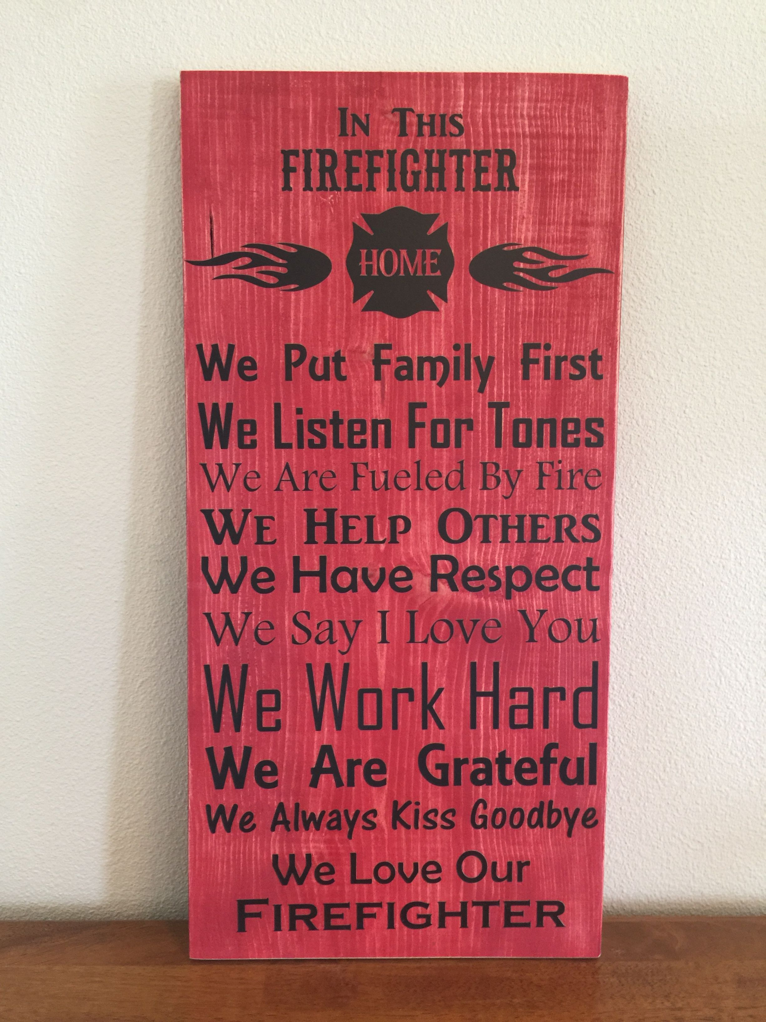 In This Firefighter House\