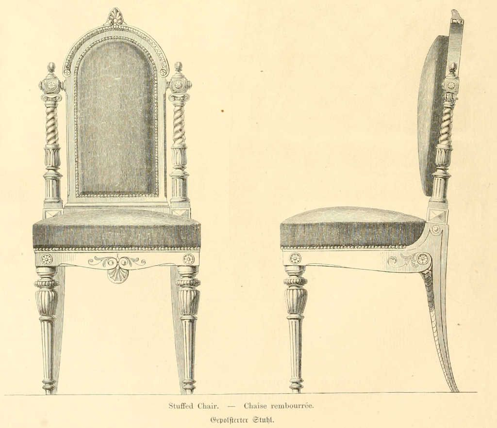Mobilier Chaise Img Dessins Meubles Mobilier Chaise Rembourree Jpg