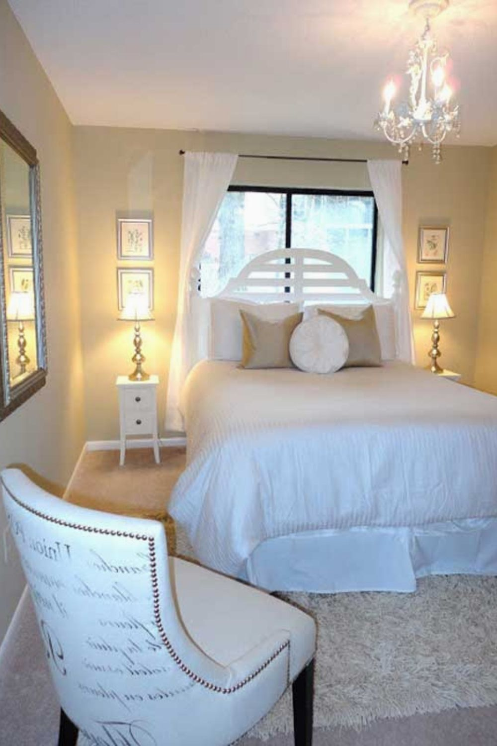 Perfect Bedroom Ideas Green About House Castle 351501449 Blackfeaturewall Masterbedroomstyle Bedro Small Guest Bedroom Guest Bedroom Decor Small Guest Room