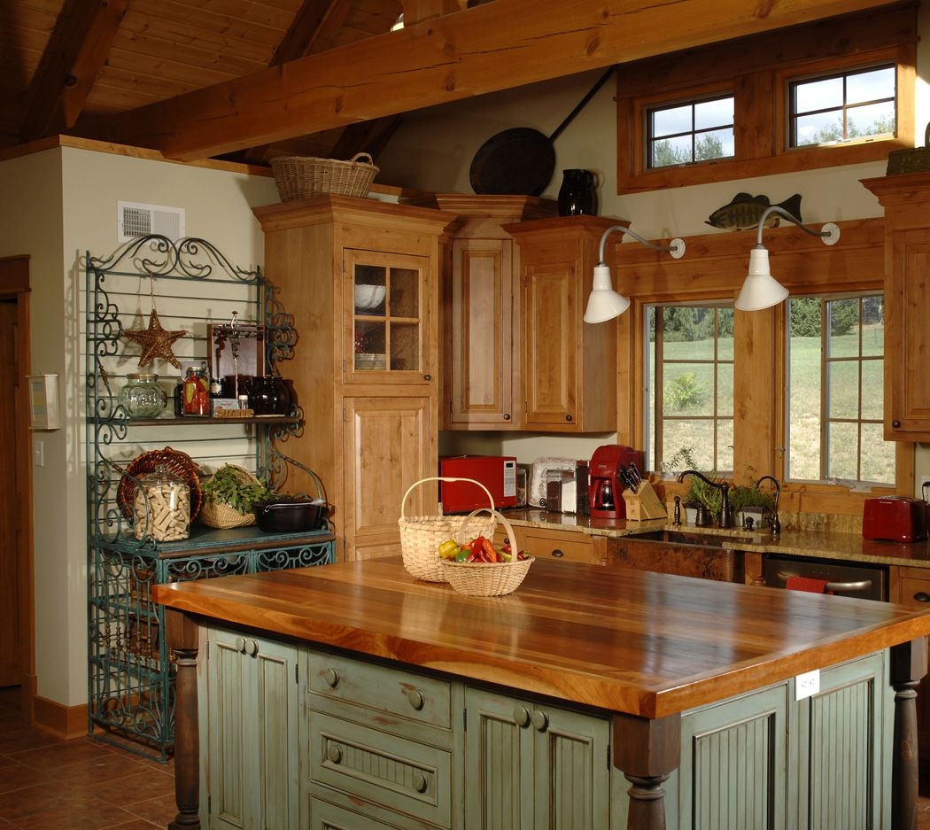 country kitchen Of Country Kitchen Islands HGTV