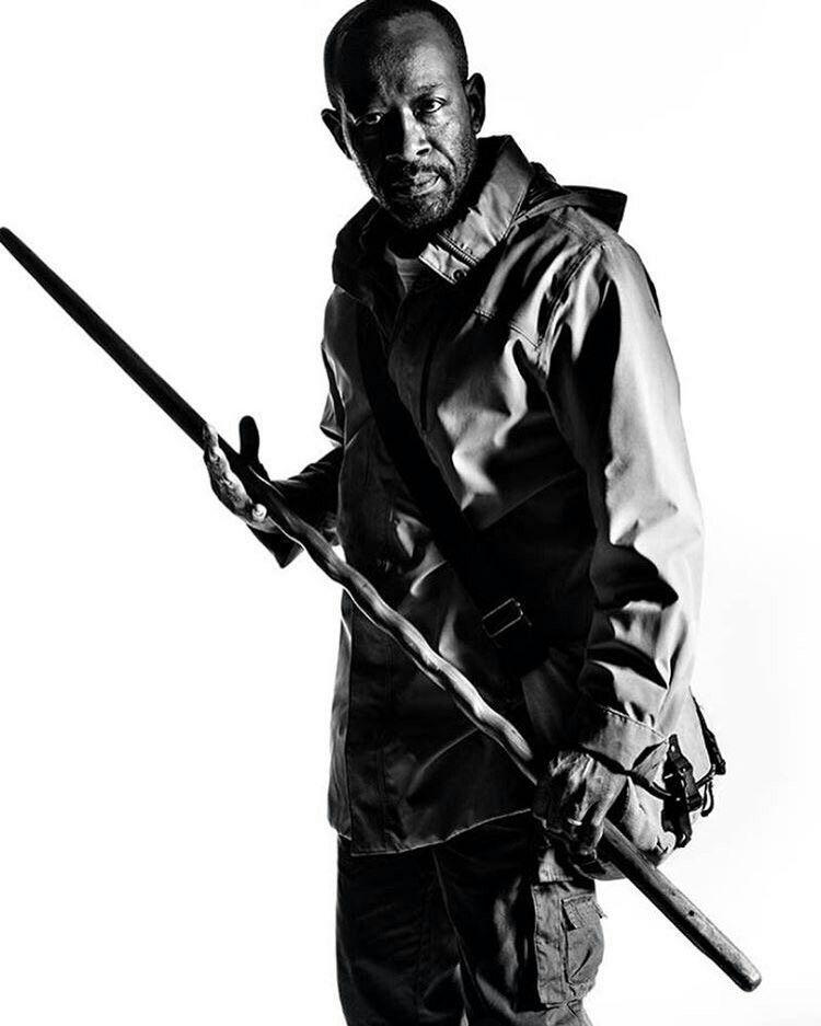 Morgan Jones S7 The Walking Dead Pinterest Morgan