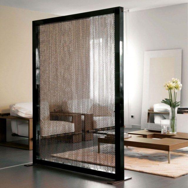 einmalige Dekore trennen Wohnbereiche voneinander-Sichtschutz - raumteiler schlafzimmer ideen