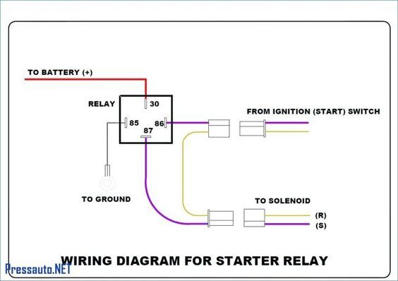 bosch 4 pin relay wiring diagram for doorbell symbols car rh pinterest com  wiring diagram for a relay for fog lights