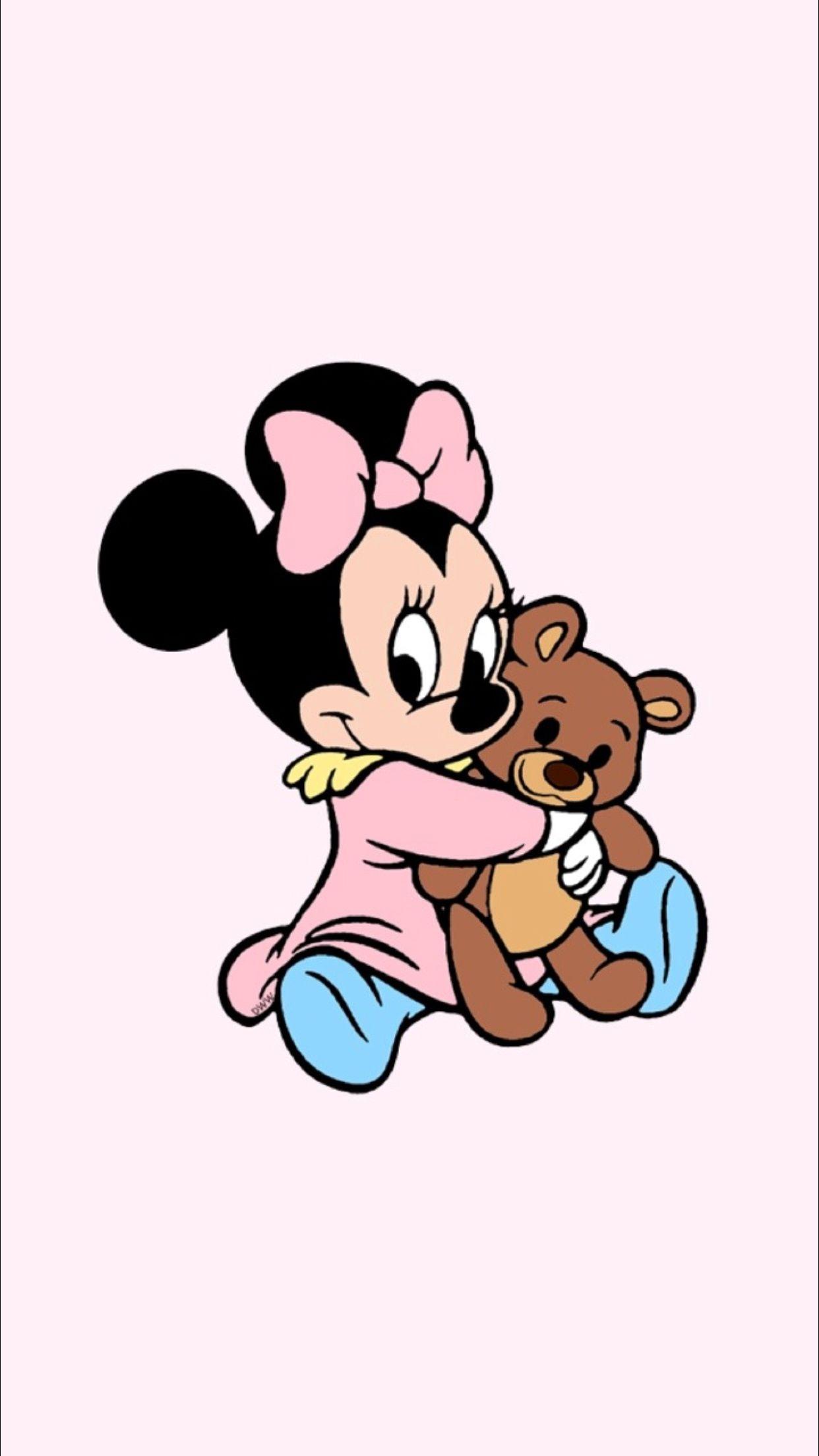 Minnie Disney Phone Wallpaper Wallpaper Iphone Disney Cute Disney