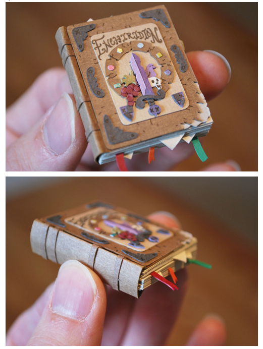 Miniature Paper Craft by Cameron Garland