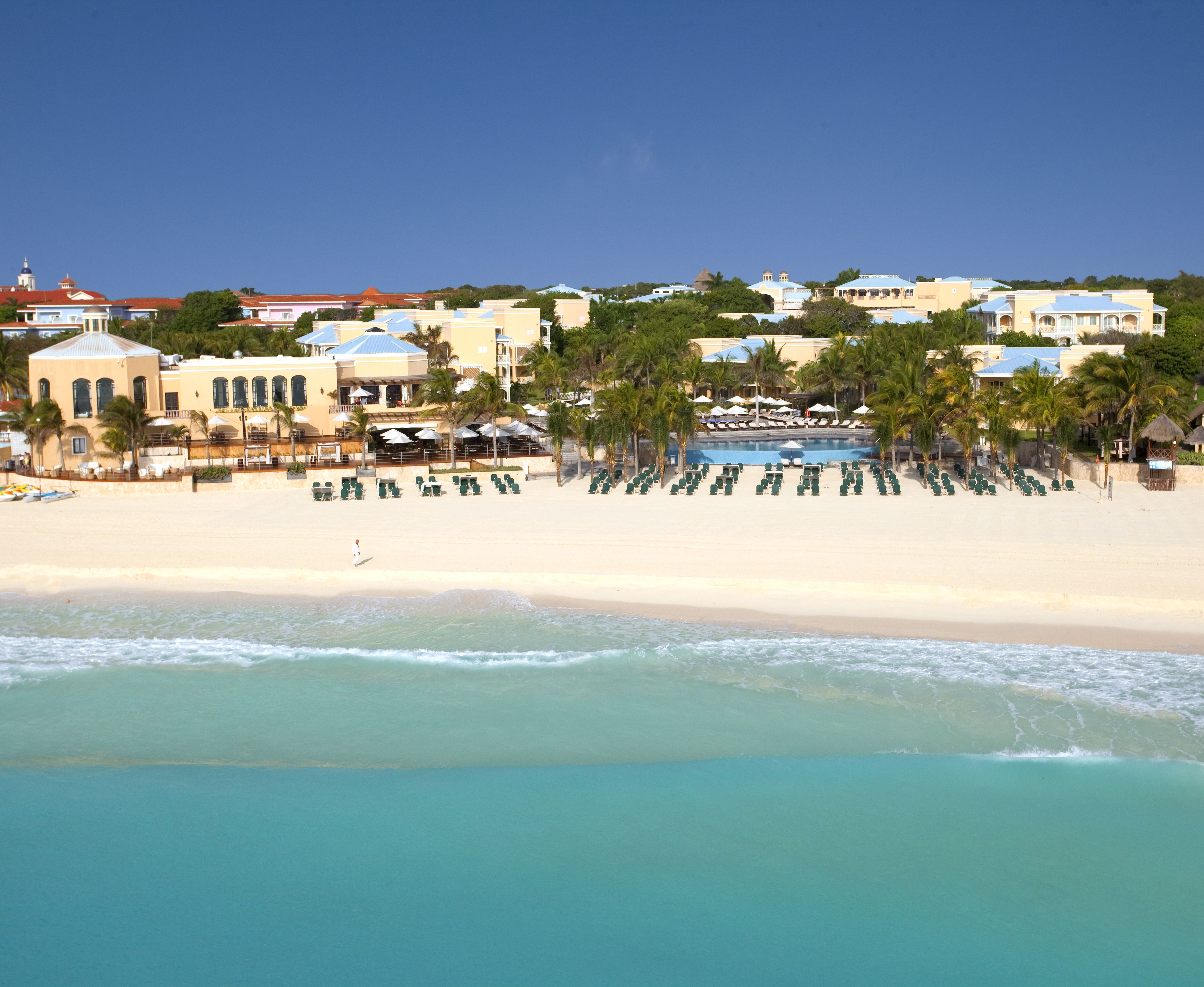 stunning view of royal hideaway playacar mexico occidental hotels rh pinterest ca