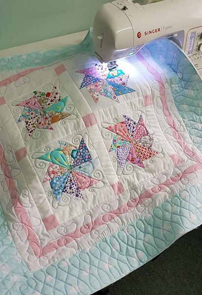 The Free Motion Quilting Project Teaching Quilt In Spanish With