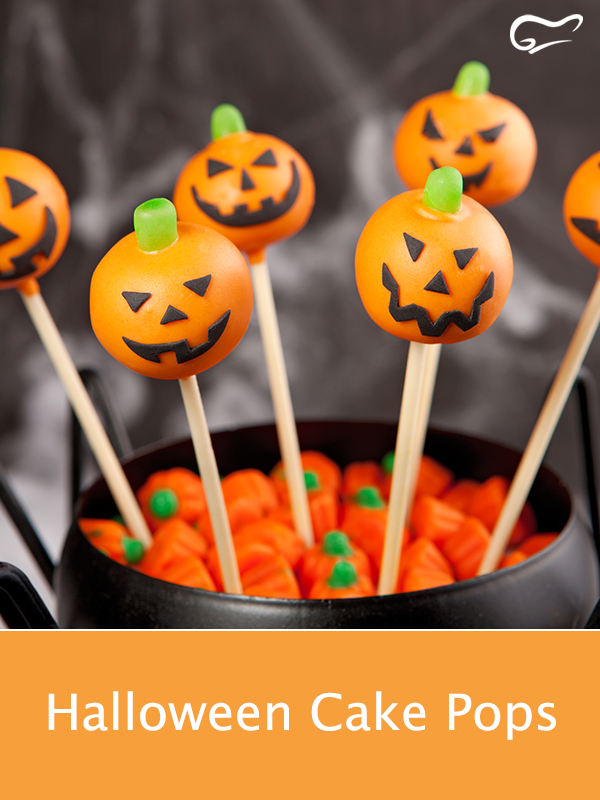 Halloween Cake Pops Rezept Kuchenlolli, Plätzchen mit