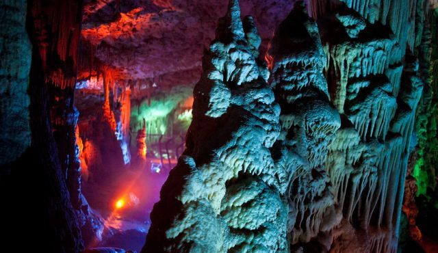 Soreq Cave in Israel