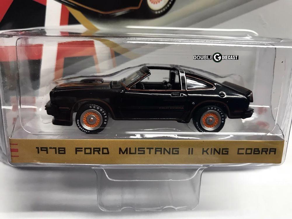 1978 ford mustang ii king cobra 1 64 diecast greenlight 29937 rh pinterest com