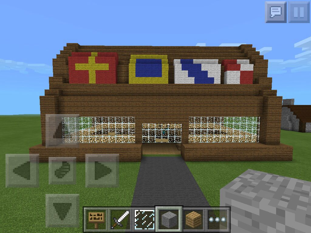 Cool Krusty Krab to build in minecraft