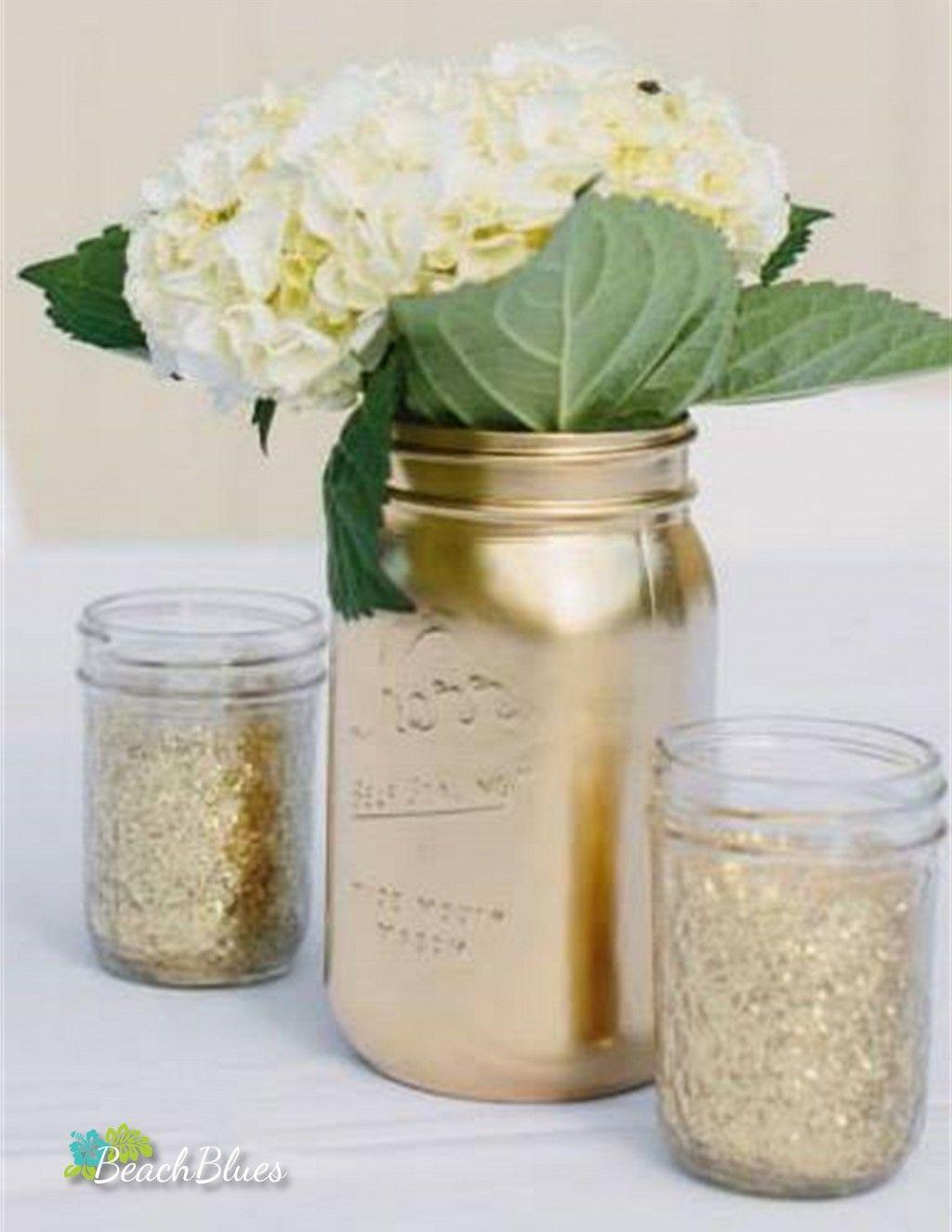 Pin by Brenda Gavin on Wedding   Pinterest   Jar, Bridal bouquets ...