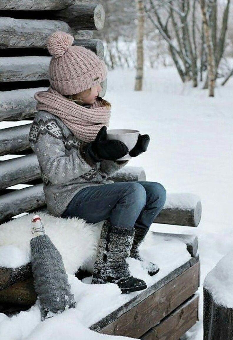 картинки ожидаем зиму оттенком видом