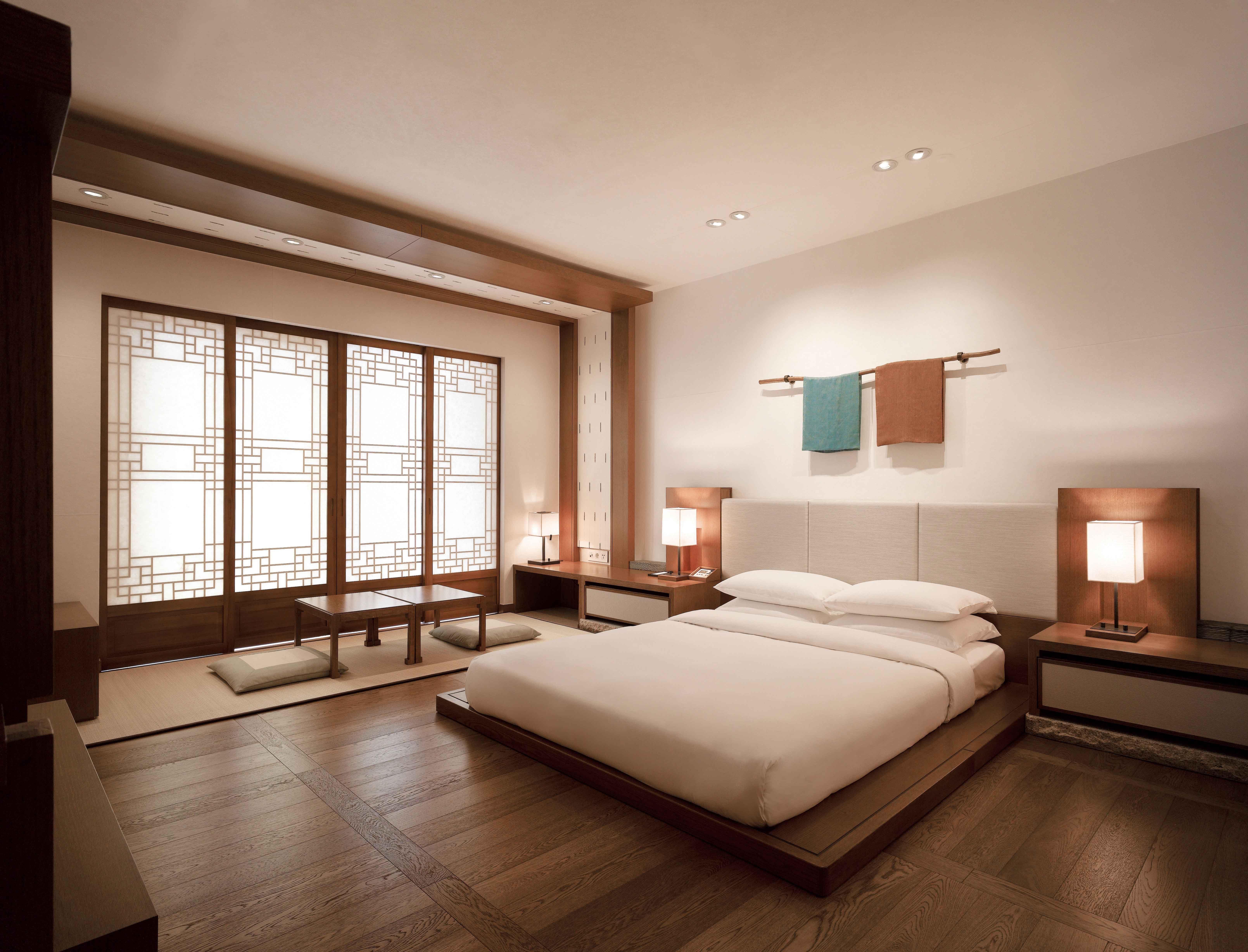 Korean Ondol Room_Hyatt Regency Jeju in Korea | 인테리어, 안방 ...