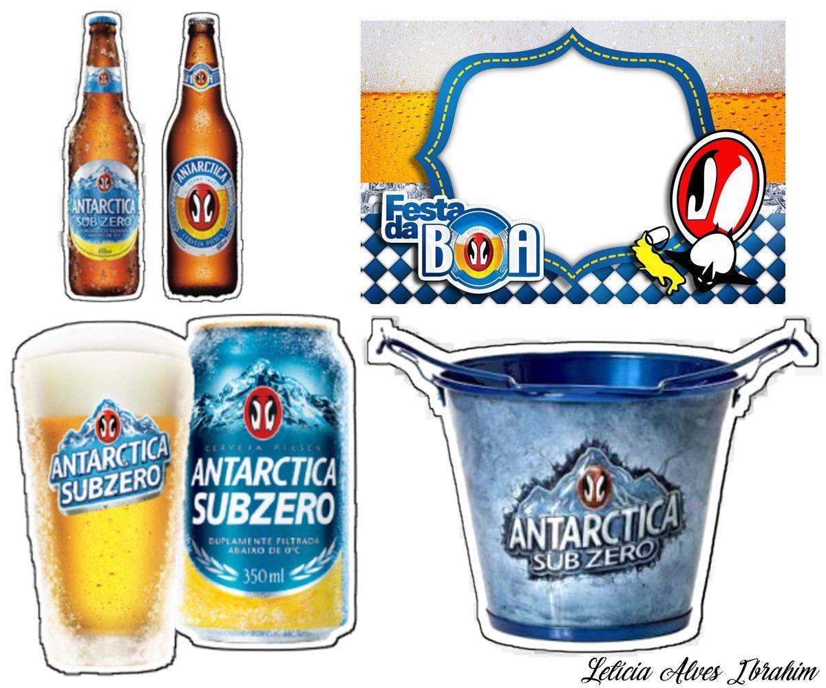 Topper Cerveja Sub 0 Decoracoes De Cerveja Bolo Cerveja Bolo Antartica
