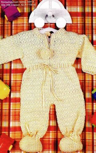 Вязание комплектов и комбинезонов для новорожденных - Вязание малышам - Вязание для малышей - Вязание для детей. Вязание спицами, крючком для малышей