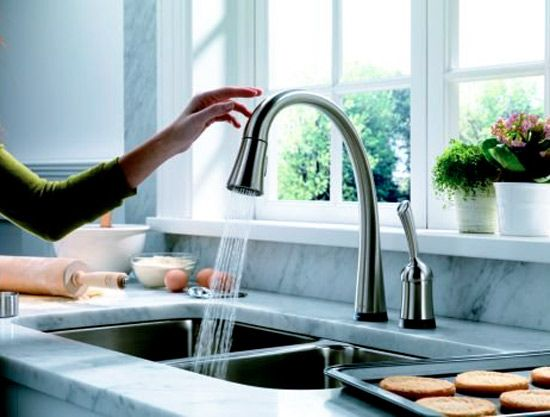 touch sink faucets b c my hands will be dirty cool ideas for rh pinterest com