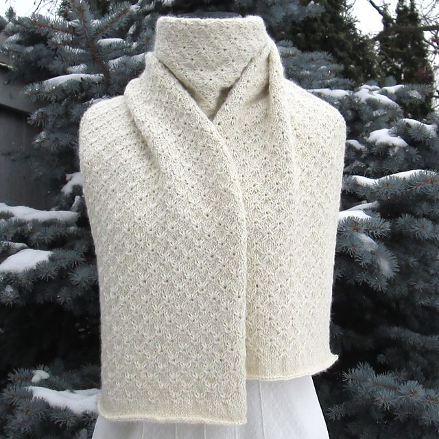 Ravelry: Isn't She Lovely Scarf pattern by Alexis Adrienne