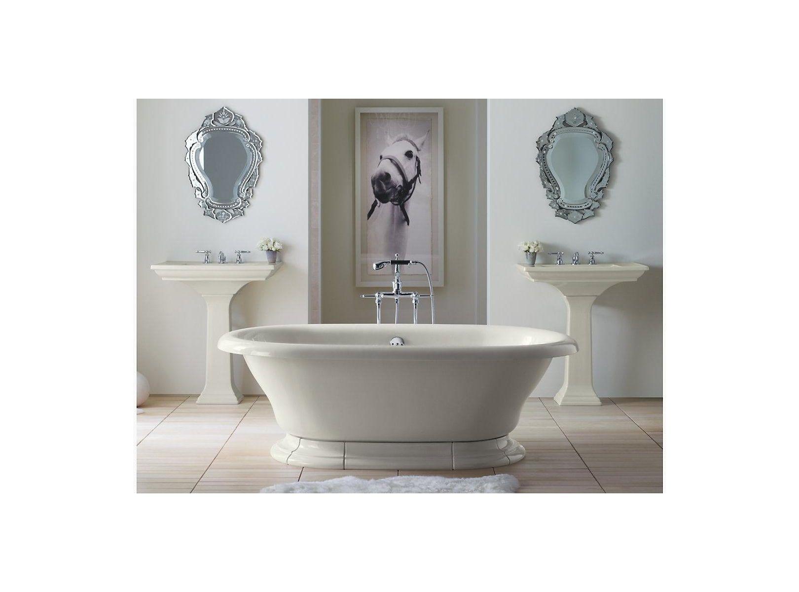 Kohler K 700 Vintage Collection 72 Free Standing Bath Tub For Two