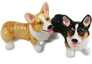 Welsh Corgi Cardigan Salt /& Pepper Shakers Dogs