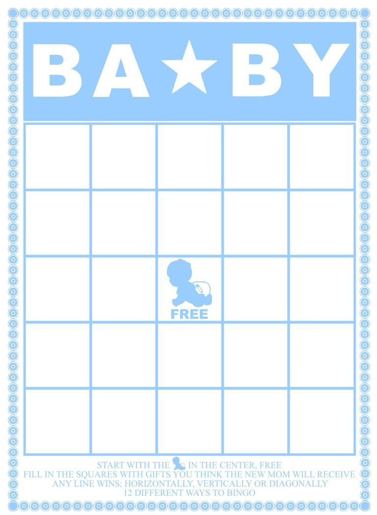 Free Baby Shower Bingo Cards Your Guests Will Love Baby Shower