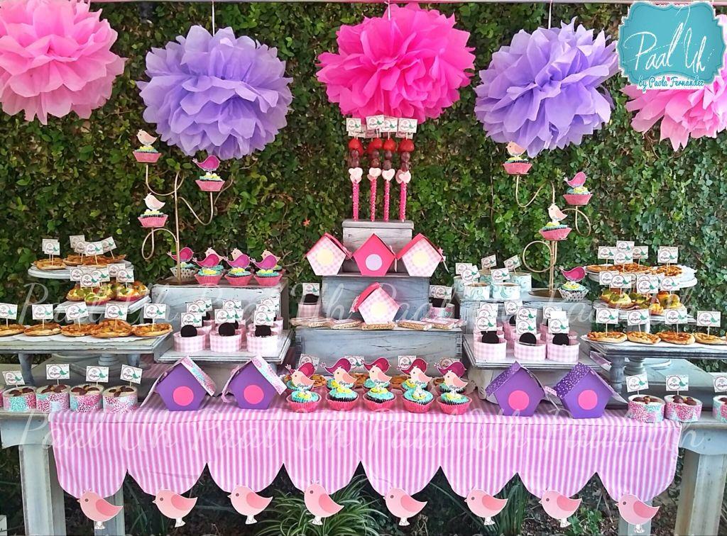 Paal uh mesa de postres snack 39 s dulces botanas for Mesa de postres baby shower
