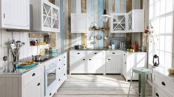Esprit le de r dans toute la maison bord ambiance et - Ambiance et style cuisine ...