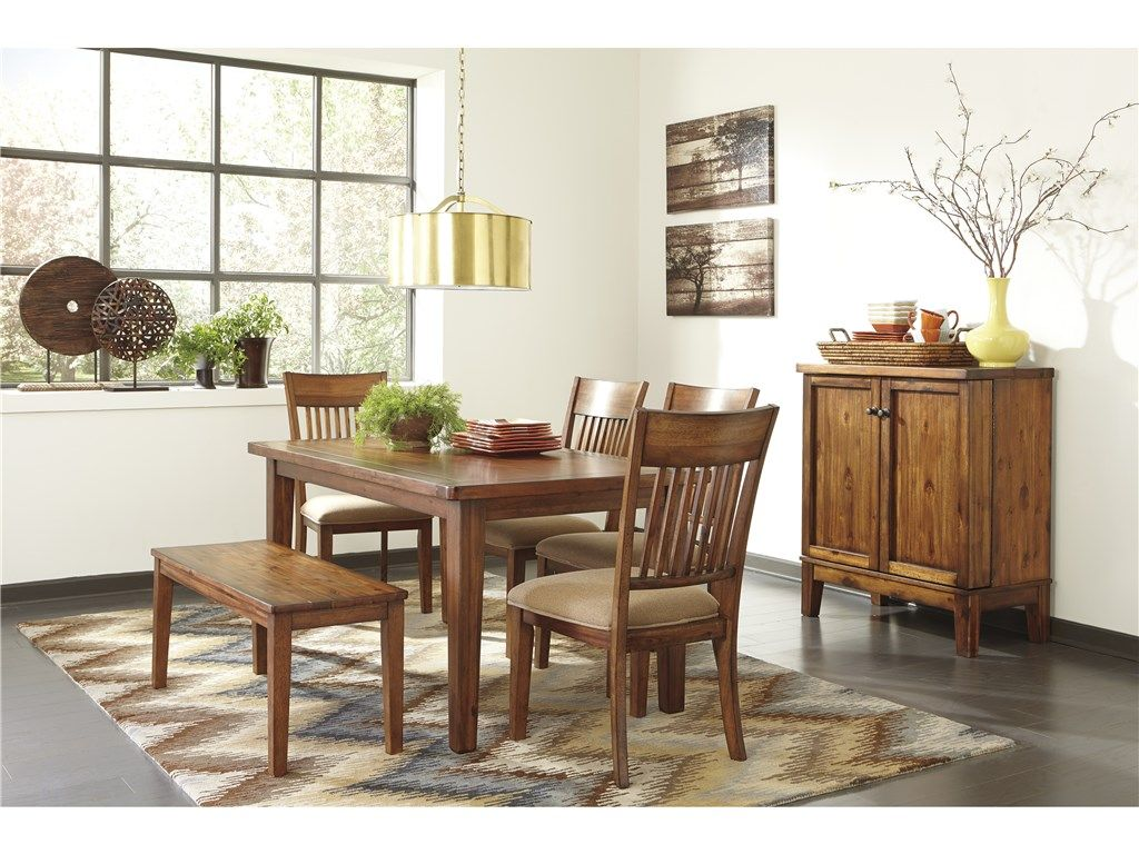 Signature Design Dining Room Six Piece Dining Set   Walker Furniture   Las  Vegas, Nevada