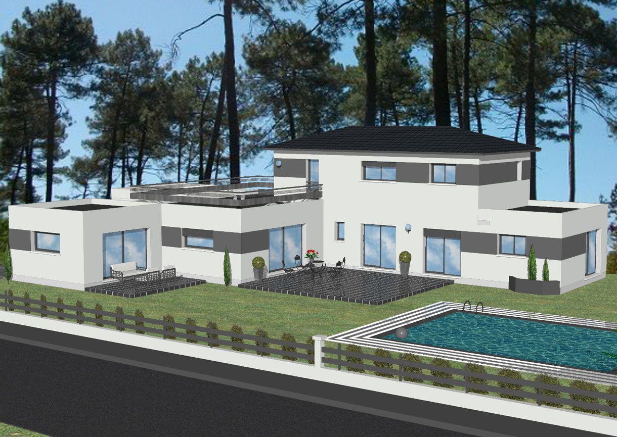 Modèles et plans de maisons > Modèle à étage Inspiration ...