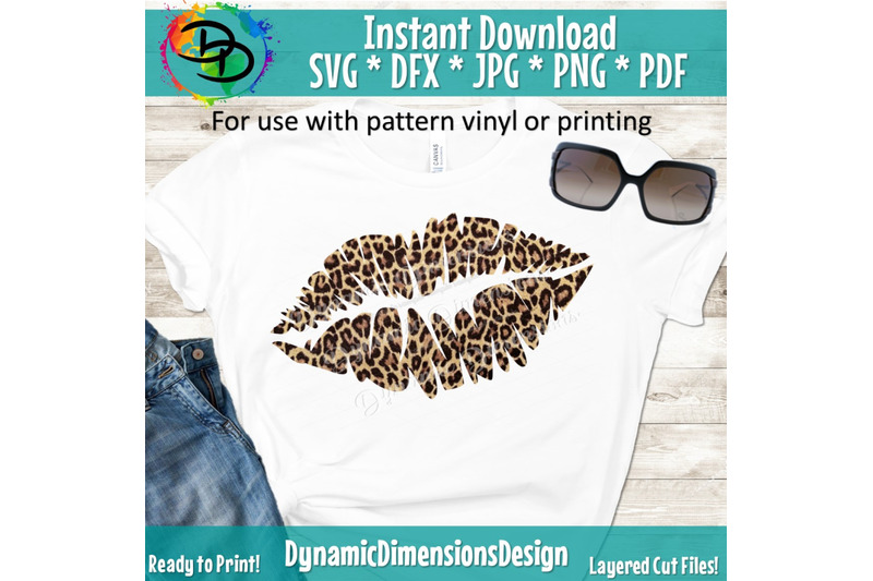 Lips svg, kiss, Leopard Lips svg, adulting svg, lips shirt