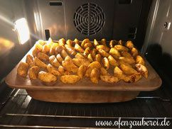 Photo of Onion and cream cutlet with potato wedges in the basic set of …