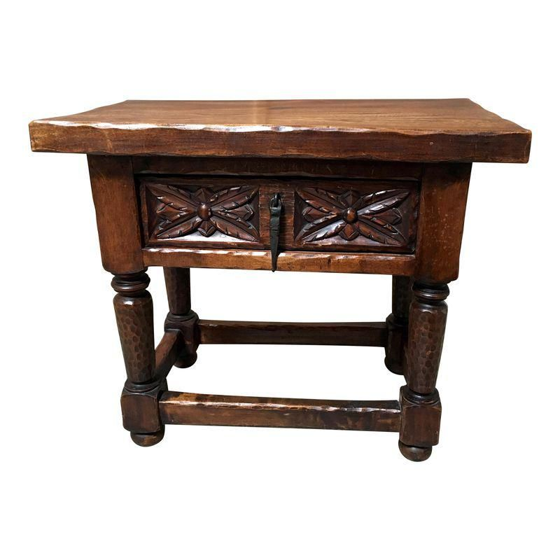 antique gothic style side table products table couch table couch rh pinterest com
