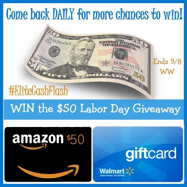 Labor Day Cash Giveaway Enter To Win Paypal Or Walmart Gift