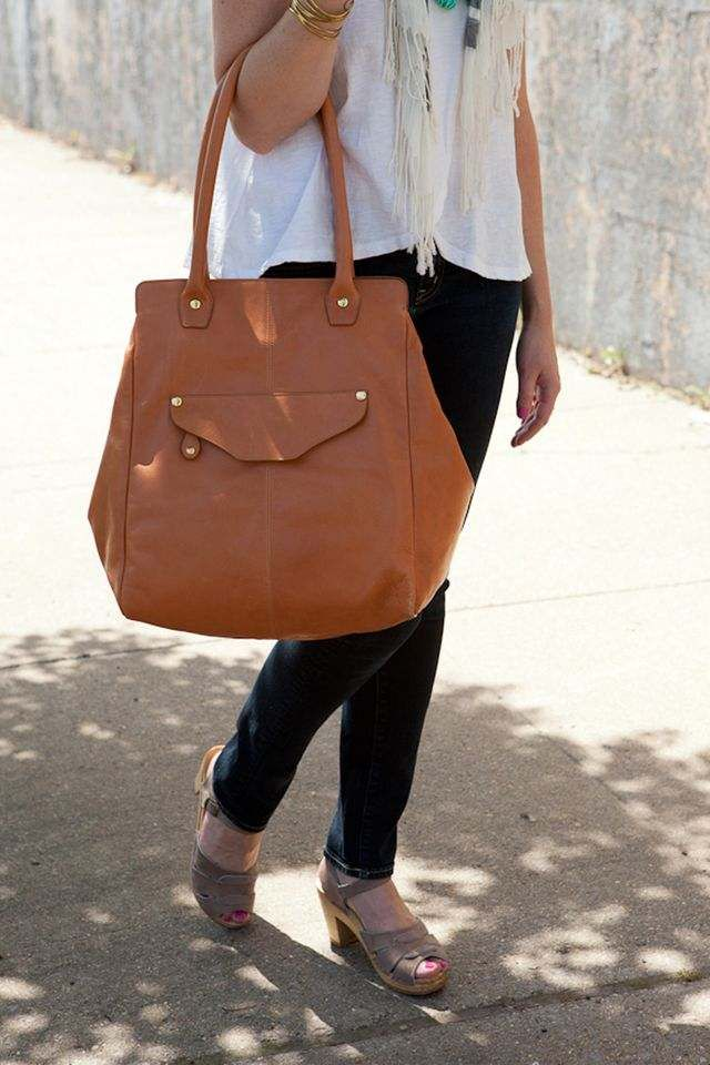 b335f2a644ad WILLIAM TOTE by Shana Luther