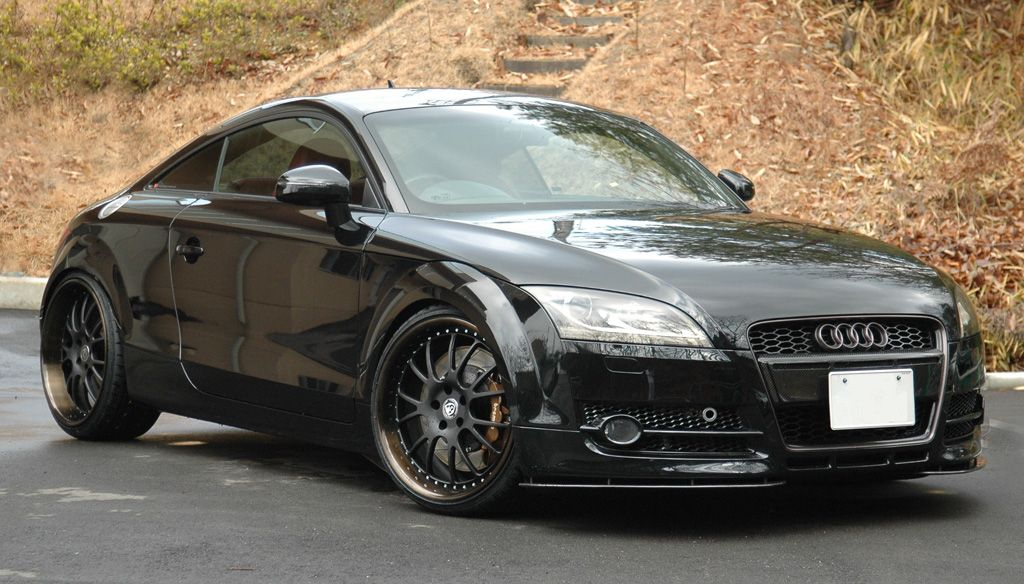 Car Manipulation Wallpapers Smokee Audi Tt With 20 Iforged Ps Neo Finished In Hyper Black