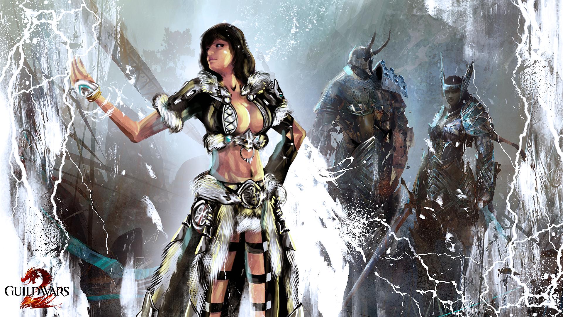 Norn Elementalist Guild Wars 2 Havroun Armor By Fotis Sora