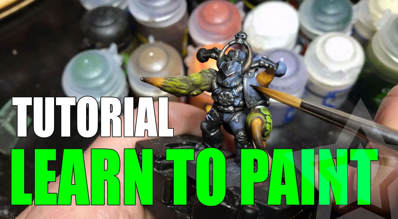 Learn how to paint miniatures the complete guide for
