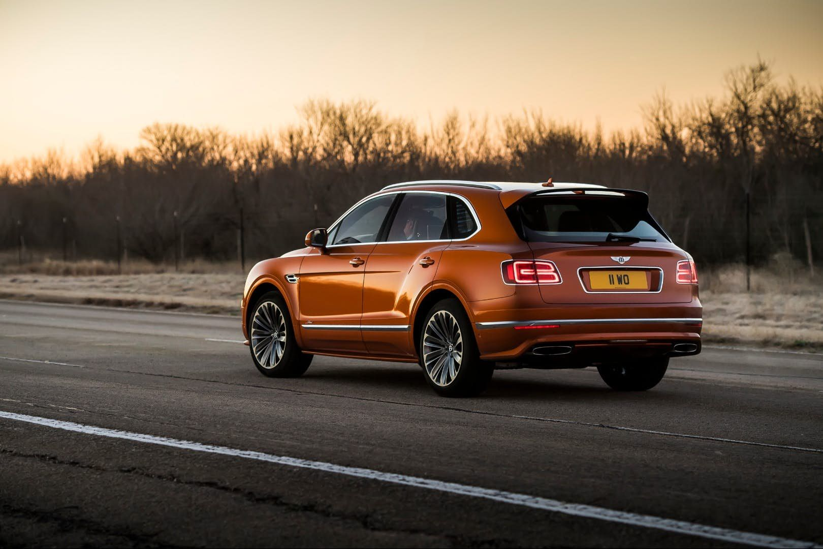 The Bentley Bentayga Speed Uses The Same Sport Tuned Eight Speed Automatic And All Wheel Drive System As The Teknik