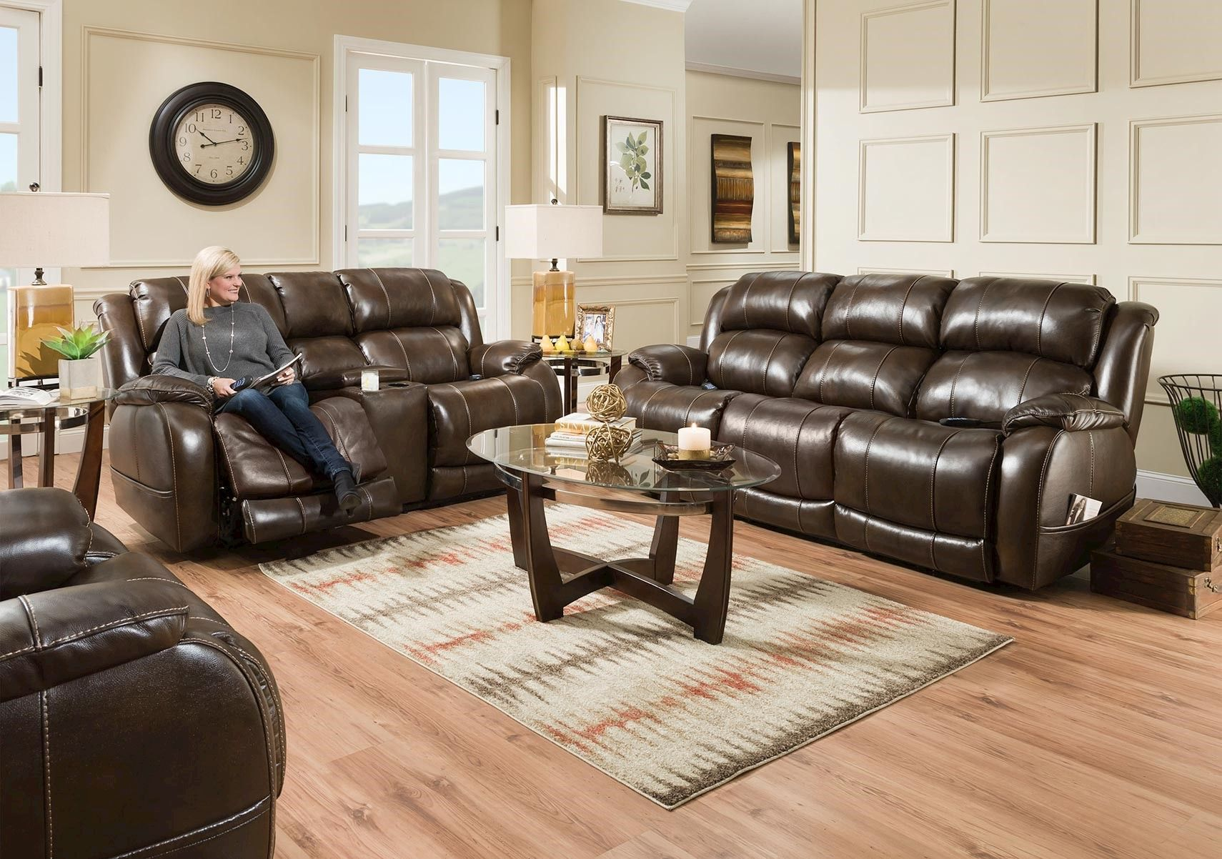Lacks Palmer 2 Pc Power Reclining Living Room Set Living Room