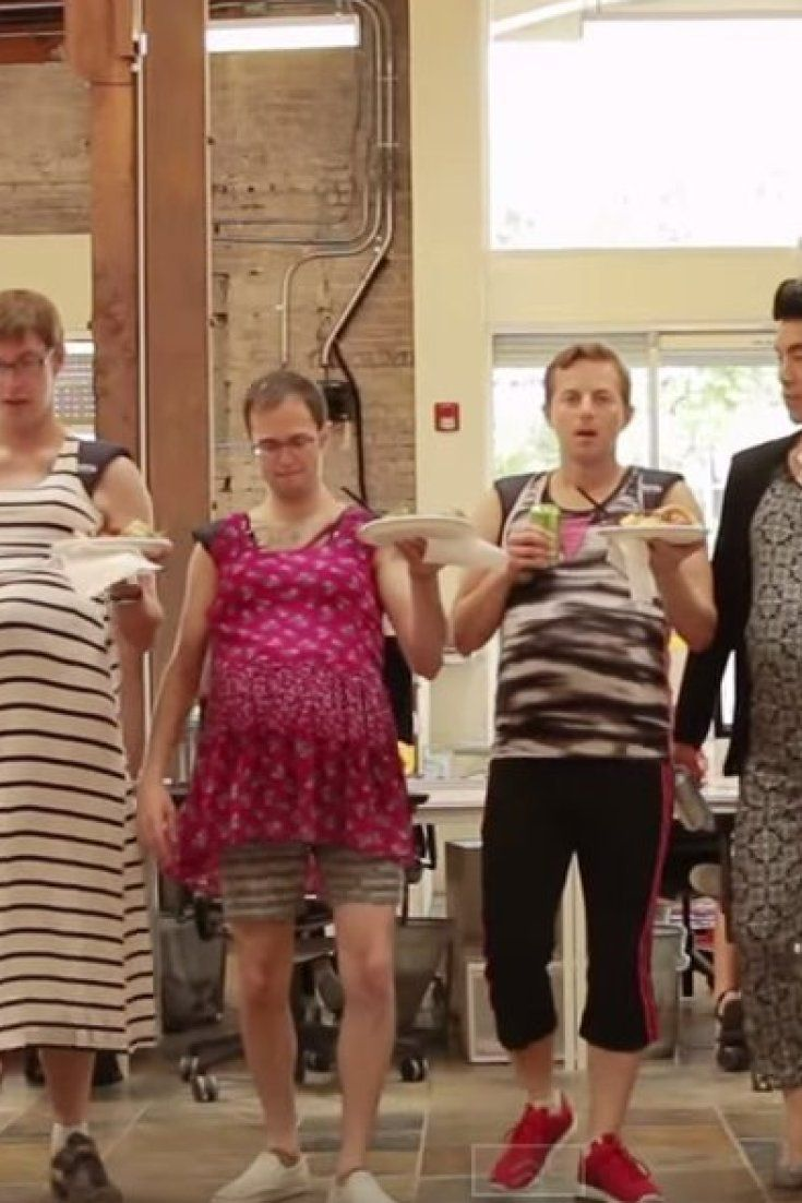 what happens when men try on pregnancy bellies pregnancy belly