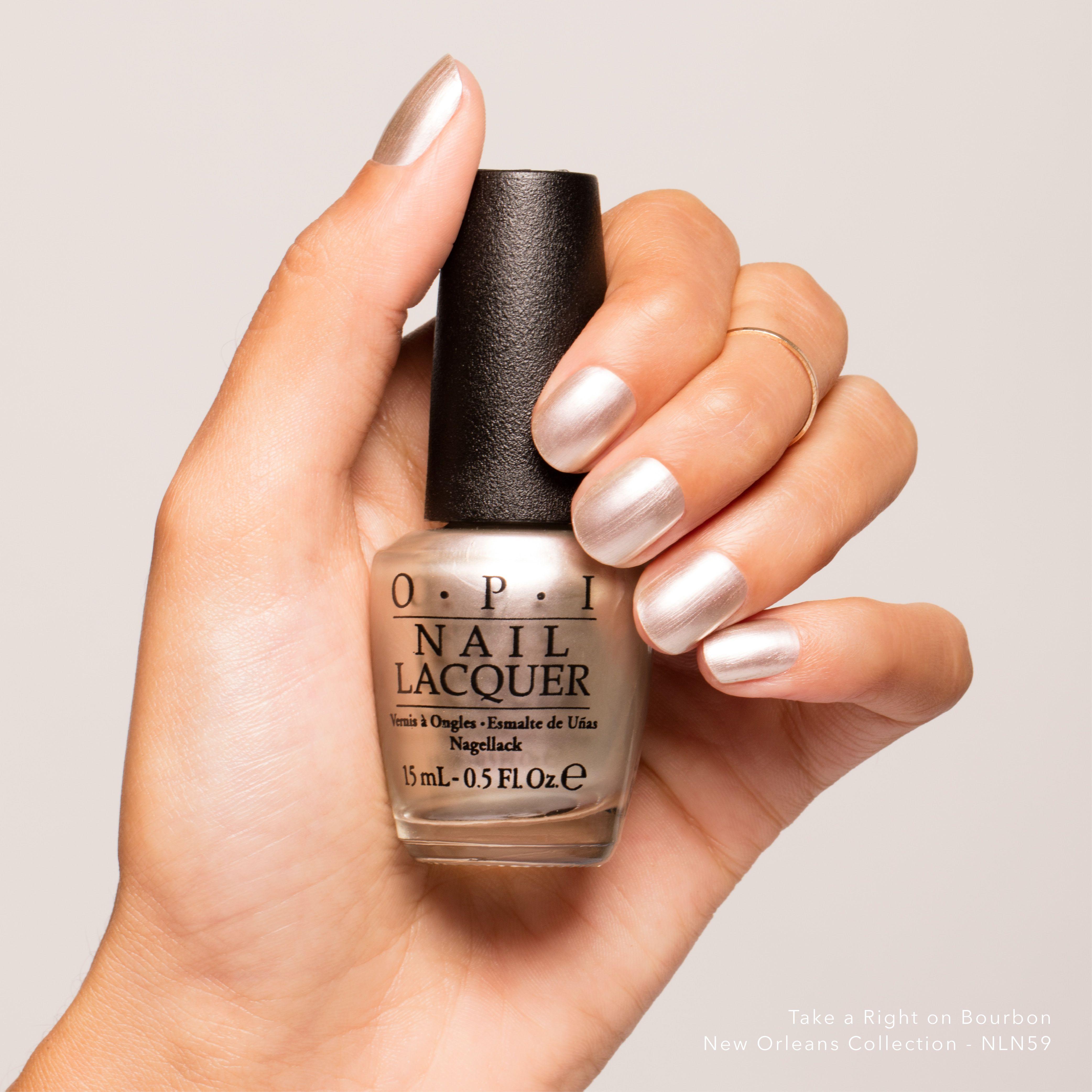 Very Me Metallic Nail Polish Shades: Take A Right On Bourbon
